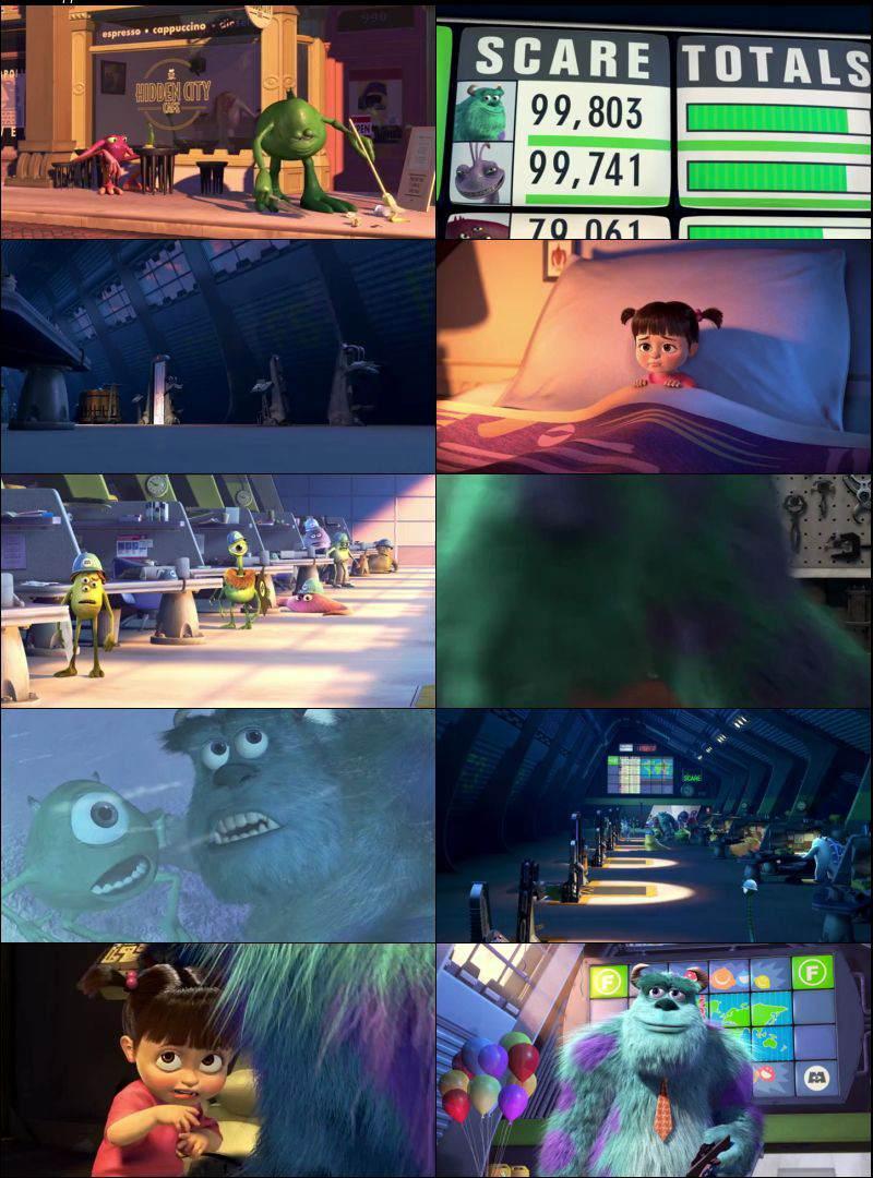 Monsters Inc 2001 Dual Audio
