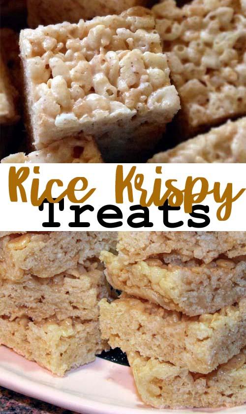 plain rice crispy treats