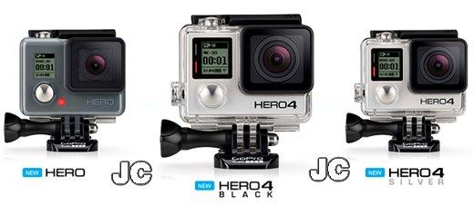 Daftar Harga Kamera GoPro Hero 3 Dan 4 Terbaru 2016
