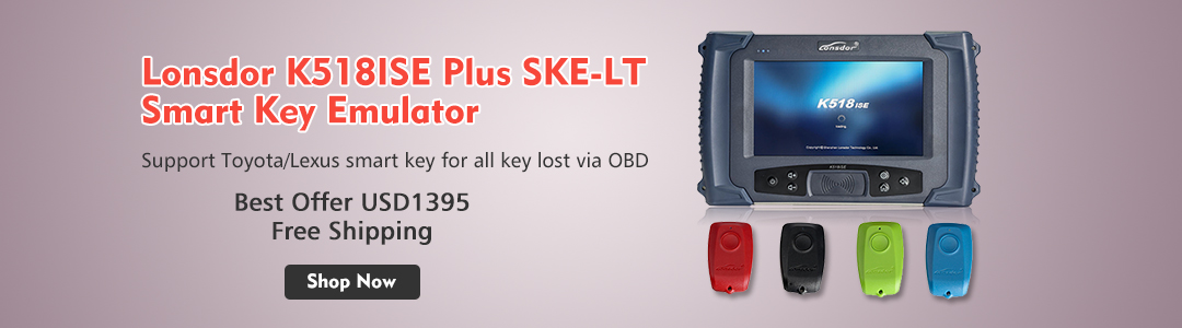 Lonsdor K518 Key Programmer Tech Support