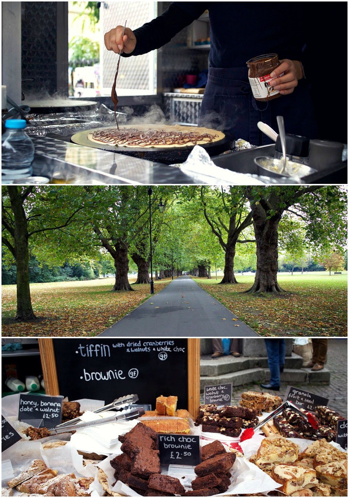 crepes and cambridge market