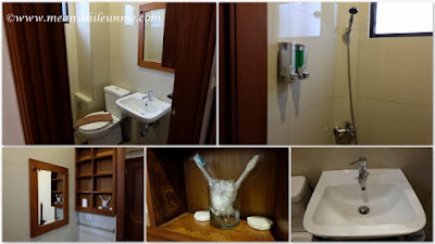 Hotel Review: kamar mandi dan amenities di Hotel Amira, Bandung