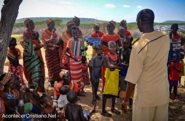 Misioneros en Kenia