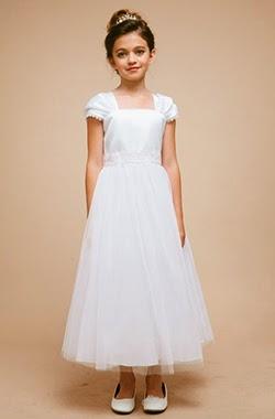 dc0d0b057d I Komunia Św. - inspiracje i przykłady dekoracji  Sukienki komunijne ...
