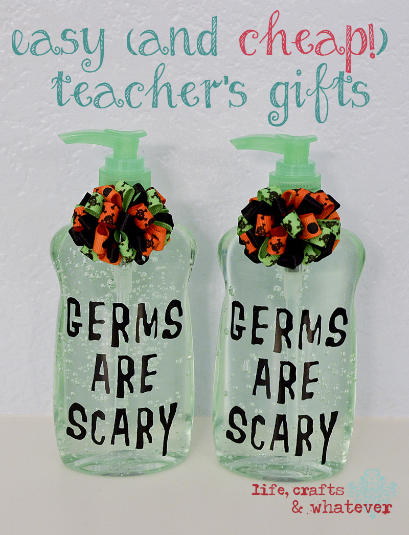 Simple And Cheap Living Room Decoration: Life Crafts & Whatever: Easy (and CHEAP!) Teacher's Gifts