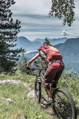 MTB, Mountainbike Tour M. Monticello, Moggio Udinese, Friaul