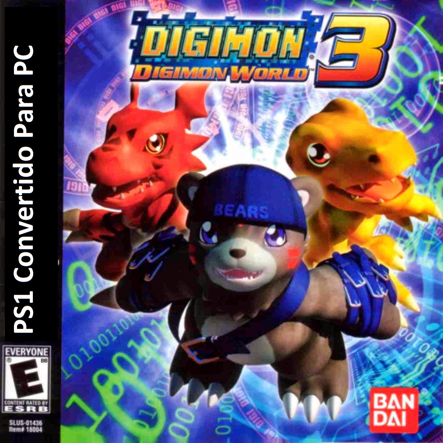 Digimon World 3 PC Capa