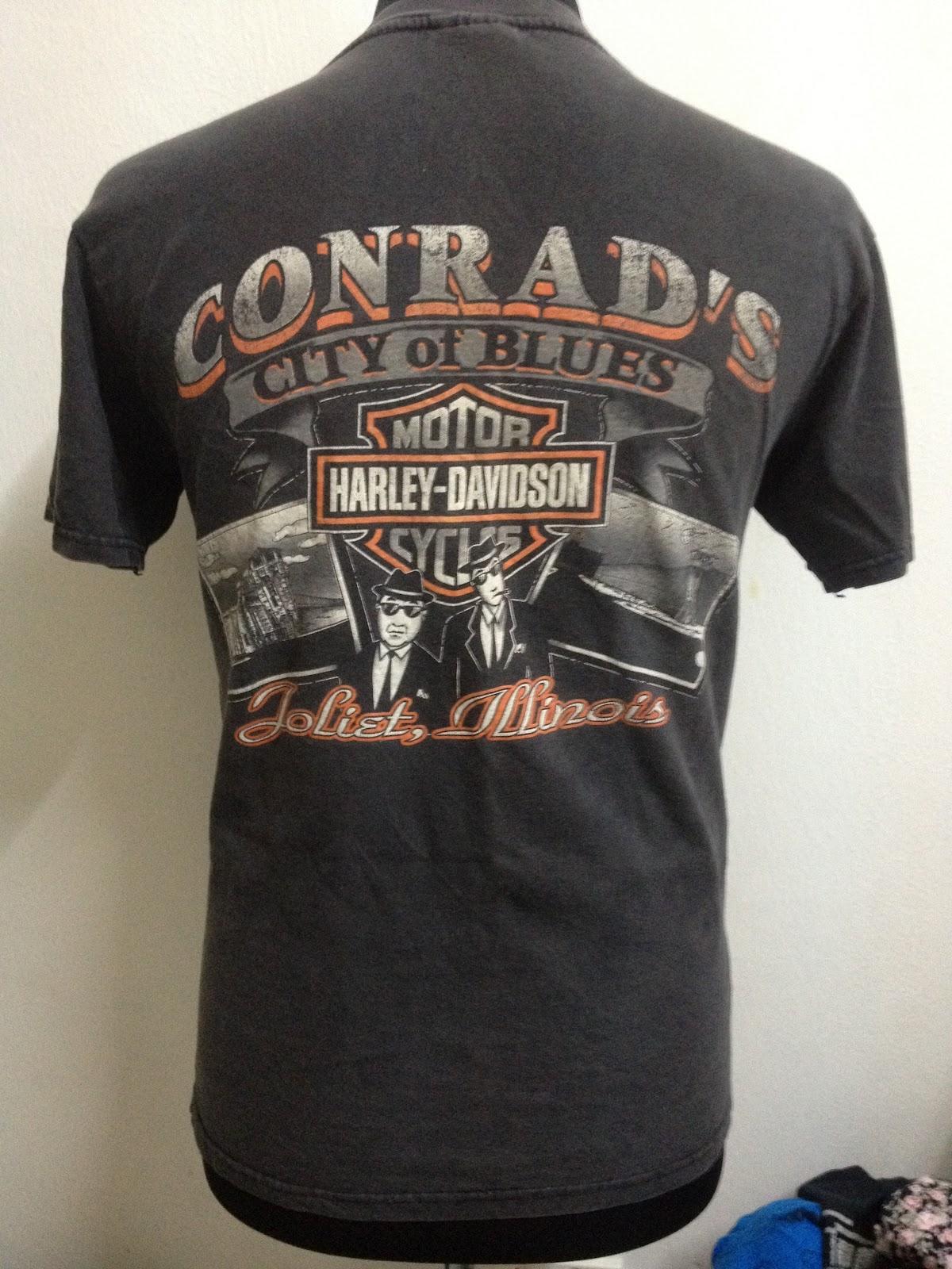 "Conrads Harley Davidson >> Bizar Bundle: [SOLD]HARLEY CONRAD'S ""city of blues"" t-shirt"