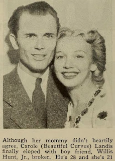 Carole Landis Willis Hunt
