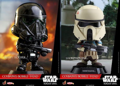Star Wars: Rogue One Cosbaby Series 1 Vinyl Figures by Hot Toys