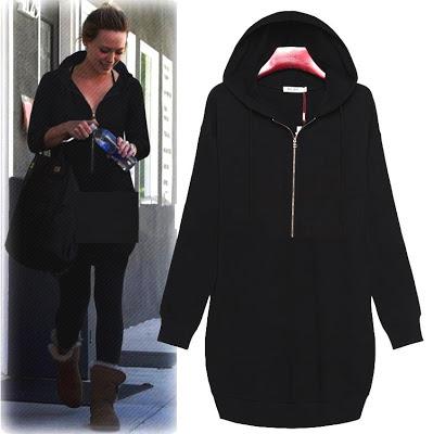 kalçayı örten sweatshirt,siyah uzun sweatshirt