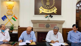 CBIC signs MoU with CBDT for Bilateral Data Exchange