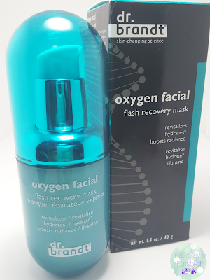 Dr. Brandt Oxygen Facial Flash Recovery Mask | Kat Stays Polished