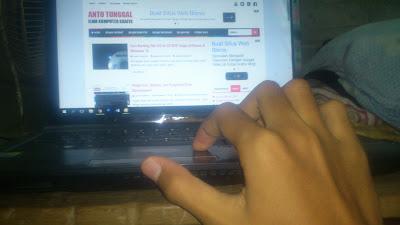 cara mengatasi scroll touchpad laptop error tidak berfungsi