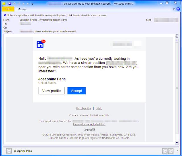 Phát hiện chiến dịch phát tán mã độc giả mạo nhà tuyển dụng - Cybersec365.org