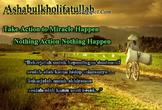 Take Action To Miracle Happen