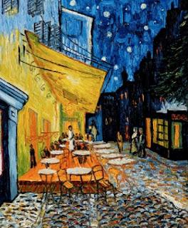 Café Terrace at Night oleh Vincent van Gogh