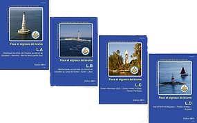 livre des feux FNA, signaux, brume, mer, ocean,marques cardinales, SHOM,