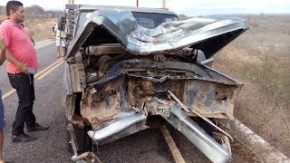 Dois homens morrem em acidente próximo ao trevo que liga Cuité a Sossego