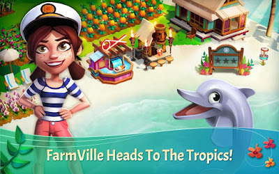 Download FarmVille: Tropic Escape Mod Apk Unlimited Money Terbaru