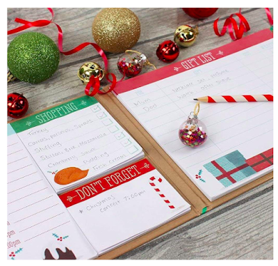 5 of the Best Christmas Planners for 2018  - hardback christmas planner