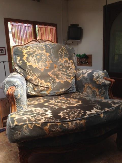 myriam bouin tapissier d corateur fauteuil louis xv. Black Bedroom Furniture Sets. Home Design Ideas