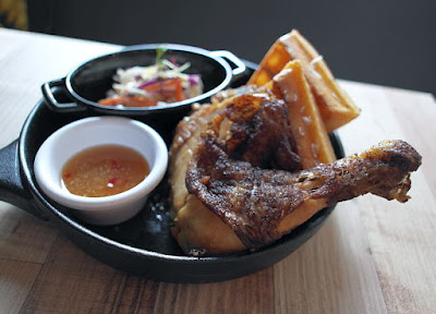 Peking Chicken Confit with Waffle @$16.50++