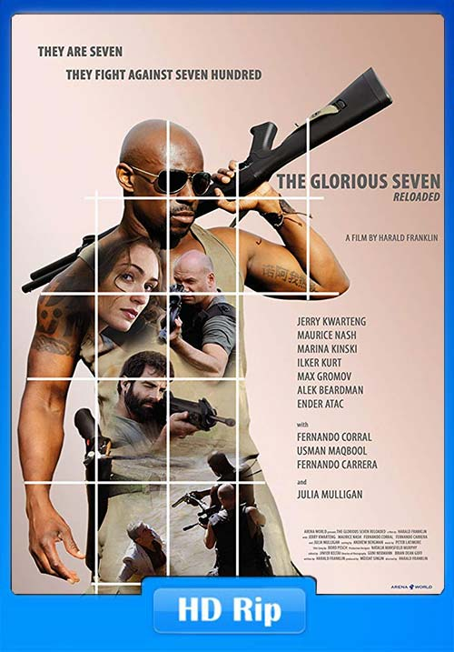 The Glorious Seven 2019 English HDRip 720p X264 | 480p 300MB | 100MB HEVC