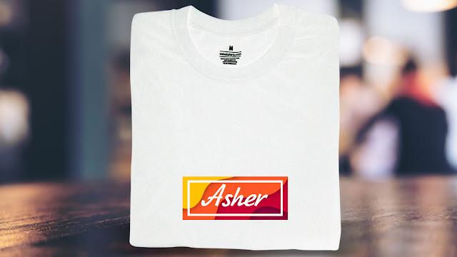SNB-A08-P6FC-CTS Name T Shirt Design, Custom T Shirt Printing