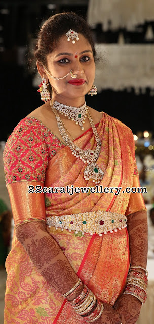 Heavy Diamond Jewellery for Weddings