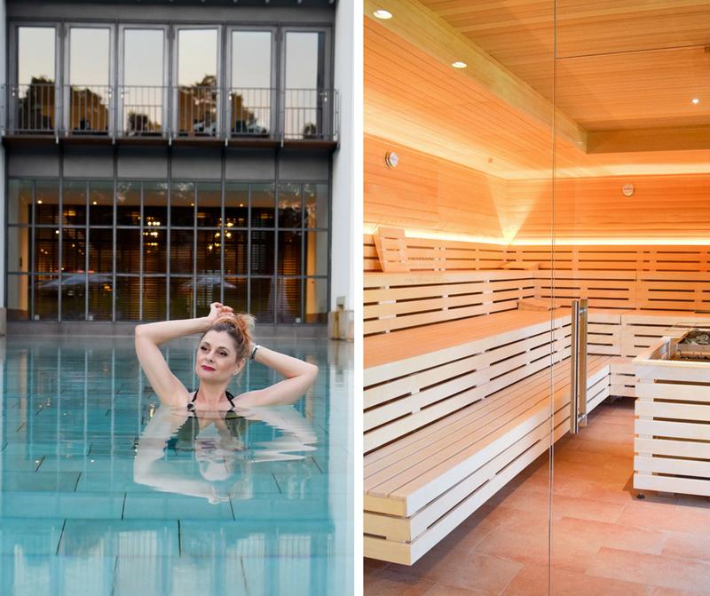 Wie gut ist der Wellness Bereich Hotel Gräflicher Park Grand Resort