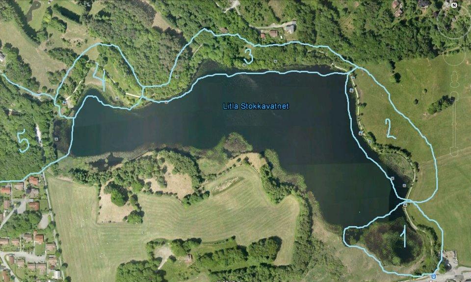 stokkavannet kart Lille Stokkavannet: Kart og oversikt over soner stokkavannet kart