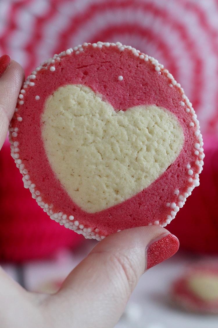 Als Überraschung Für Meine Kollegen Habe Ich In Diesem Jahr Herzkekse Zum  Valentinstag Gebacken. Einzeln Verpackt Sind Sie Eine Schöne Aufmerksamkeit  Für ...