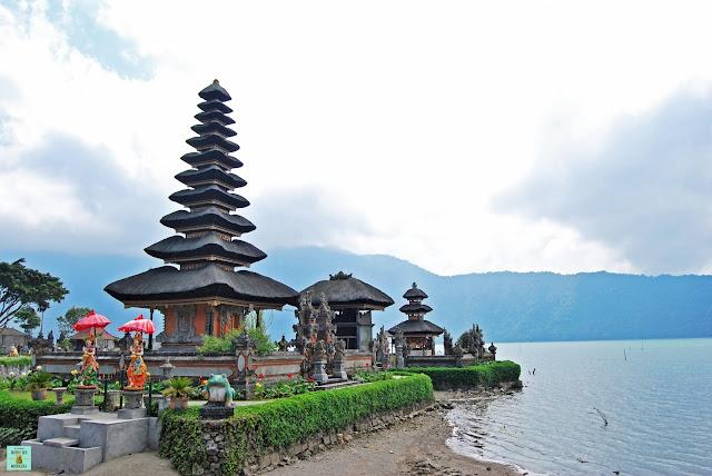 Pula Ulun Danu Batran en Bali, Indonesia