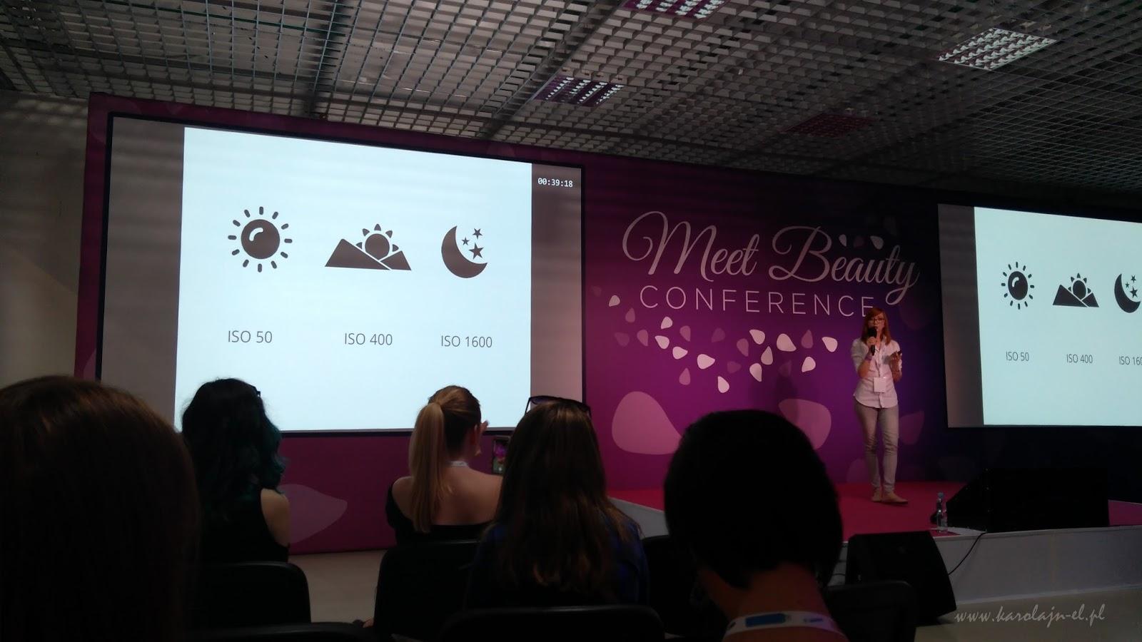 Natalia z JestRudo.pl na konferencji Meet Beauty