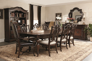 baers-dark-wood-dining-room-set