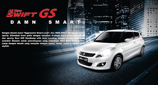 BANNER SUZUKI ALL NEW SWIFT GS