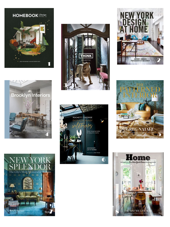 eclectic new york interiors style books
