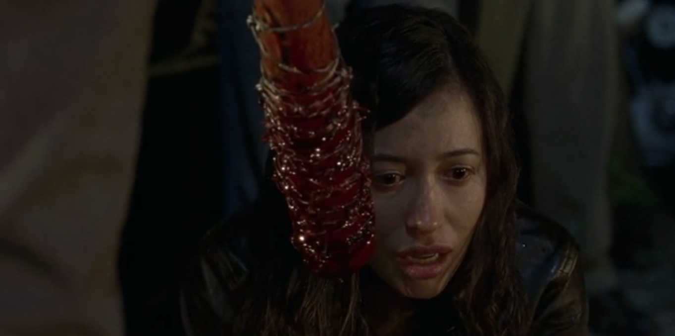 Rosita en the walking dead day will come when you wont be