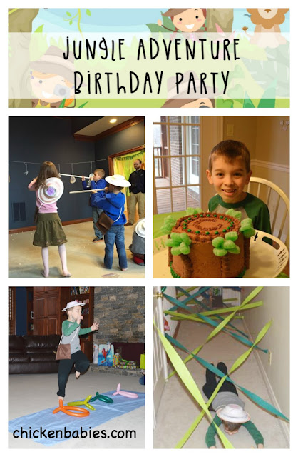 Great games for a jungle themed birthday party! Games are easy, cheap, and totally doable! perfect! great for boys and girls too.