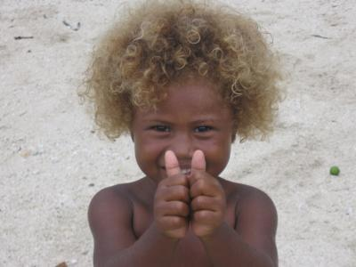 Scientists Discover Key Contribution To Melanesian Blonde Hair Color