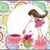 Fiesta de Té de Chicas: Etiquetas para Candy Bar para Imprimir Gratis.