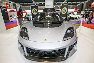 Lotus  at Qatar Motor Show 2017
