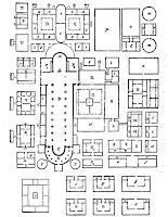 Plano Abadía de Saint Gall