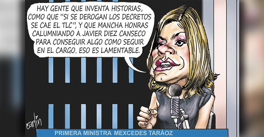 Carlincaturas Lunes 26 Febrero 2018 - La República