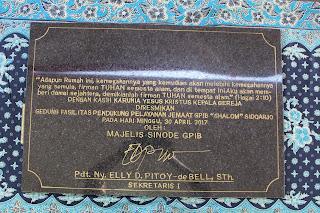 Gedung Serba Guna - GPIB SHALOM
