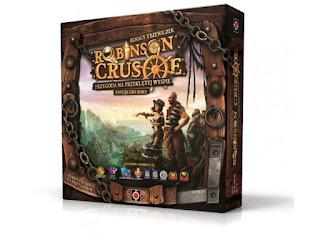 gra planszowa Robinson Crusoe