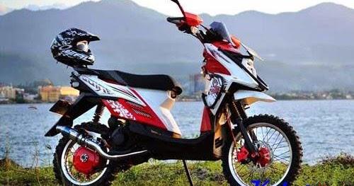 Kumpulan Gambar Modifikasi Trail Yamaha XRide Terbaru 2017