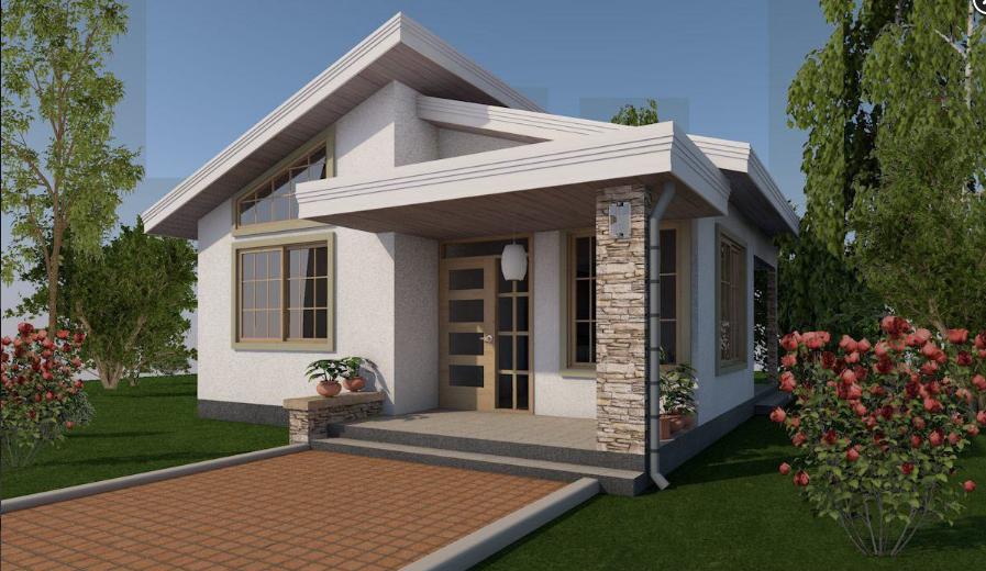 The Bungalow style was usually a single-story house with a prominent veranda, especially with the roof covering the verandah. Living in a bungalow house is many people's ideal. Bungalow means no stairs to arrange, and the possibilities for garden access from bedrooms, and opportunities to have curved ceilings and roof lights throughout the main living areas, creating spacious, it is very appealing to some. The Bungalows gallery below is great for helping you figure out what you want.