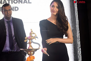 Beautiful Milky white Tamanna Bhatia in Black dress at Qutone New nd Launch ~ .xyz Exclusive